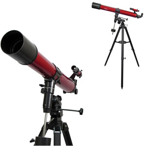 Carson RedPlanet 50-100 x 90 mm Refractor Telescope