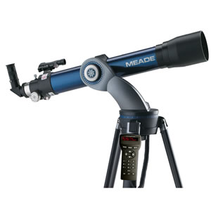 Meade Telescope StarNavigator 102mm Refractor with AudioStar