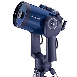 Meade LX90-SC 10 inch Go-to altazimuth Schmidt-Cassegrain Telescope, with UHTC multicoatings and GPS