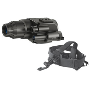 Pulsar Night Vision Scope Challenger GS 1x20 Head Mount Kit