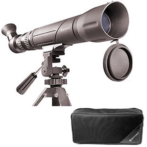 Barska 20 - 60x60 Spotter SV, Angled and Rotatable Eyepiece Spotting Scope, Roof Type Prism, Blue Lens with Tripod and Soft Case