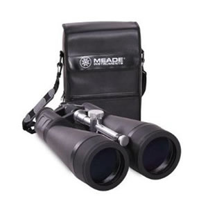 Meade 20 x 80mm Astro Binocular with Wide 3.2 Degree Field of View, Sliding Tripod Mount and Soft Case