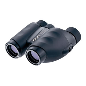 Nikon 12 x 25 Travelite V, Weather Resistant Porro Prism Binocular with 4.2 Degree Angle of View