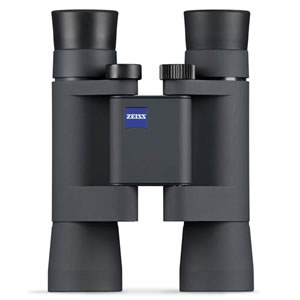 Zeiss Compact Binoculars 10x25 B T* P Conquest with Deluxe Leather Pouch