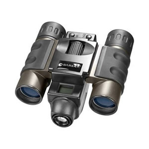 Barska 8 x 22 Point'n View, Roof Prism Binocular with Built-in VGA 0.3 MP Digital Camera, with 7.0 Degree Angle of View