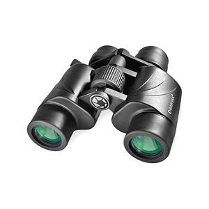 Barska 7-20x35 Escape Zoom Binoculars - Porro, Multi-Coated, Green Lens