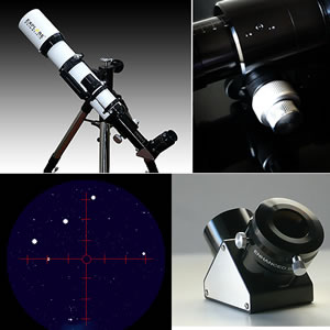 Explore Scientific 102mm f/7 Air-Spaced Triplet ED Apochromatic Refractor