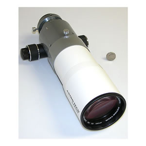Astronomy Technologies Astro-Tech AT72ED 72mm f/6 ED doublet refractor Telescope OTA, white tube