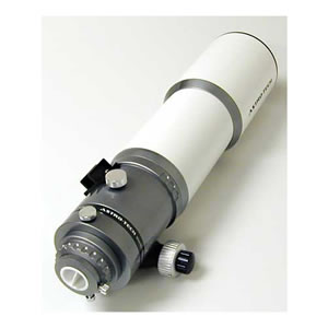 Astronomy Technologies Astro-Tech AT90EDT apochromatic refractor telescope OTA, 90mm f/6.7 FPL-53 ED triplet, white