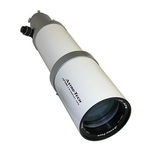 Astronomy Technologies Astro-Tech AT130 OTA 130mm f/6 FPL-53 ED triplet apochromatic refractor telescope, white