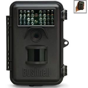 Bushnell 8MP Trophy Cam Night Vision Field Scan Trail Camera, Bone Collector