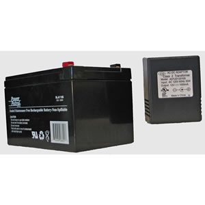 Takahashi 12V 12AH Gel Cell Battery with Charger