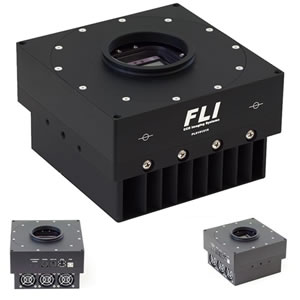 FLI ProLine CCD Camera, E2V CCD42-40-1-075 Back ILLUM. UV