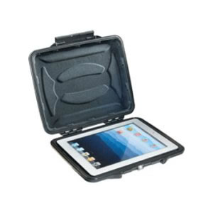 Pelican 1Hardback Case 065CC w/ Liner for 10in Tablets, Black