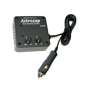 Astrozap Controller for Dew Heater Bands, Heated Dewshields
