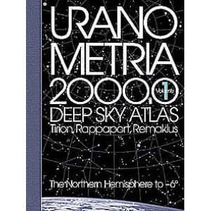 Willmann-Bell Book: Uranometria 2000 - Deep Sky Atlas Volumn 1