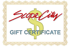 $25 Scope City Gift Certificate