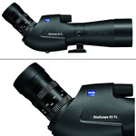Zeiss Victory Diascope 65 T* FL 15-56X Spotting Scope Angled Black