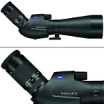 Zeiss Victory Diascope 85 T* FL 20-60X Spotting Scope Angled Black