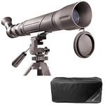 Barska 15 - 45x50 Spotter SV, Angled and Rotatable Eyepiece Spotting Scope, Roof Type Prism, Blue Lens with Tripod and Soft Case