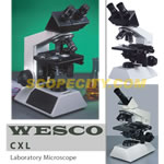 WESCO CXL Laboratory Microscope, Trinocular head