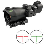 Bushnell Tactical Red Dot Riflescope 2X32, MP, Matte Black, Red/Green DOT, T-Dot