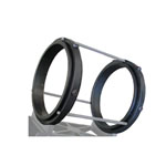 Parks Mounting Rings Tube OD Rotating Ring System 9 3/4 inch I.D.