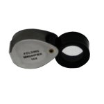 Hawk 10 Power 15mm Silver Loupe