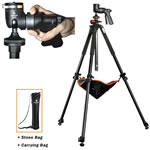 Vanguard Tripod for Spotting Scope, 26mm, 3-section leg, 65 inch max, w/GH-100 Ball head Alta Pro 263AGH