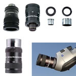 Baader Hyperion 8mm - 24mm Clickstop Zoom Eyepiece, Includes 2