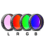 "Baader Planetarium 1.25"" LRGB Filter Set, round, mounted and threaded"