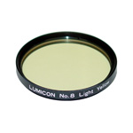 Lumicon # 8 Light Yellow 2 inch Filter