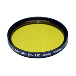 Lumicon #12 Deep Yellow Filter - 2 inch
