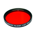 LUMICON #23A Light Red Filter - 2 inch