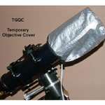 Telegizmos Field Pack Covers For 4 inch Refractor For In-Field Protection & Dew Control