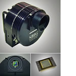 SBIG 4.2 Megapixel, Self-Guiding, Single-Shot Color Imaging System with built-in TC-237 tracking CCD, Remote Guide Head Port, and Water Cooling Heat Exchanger