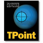 Software Bisque Telescope Pointing Analysis Software for Windows - TPoint for Windows (Box)