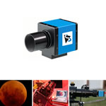 Imaging Source CCD Camera USB Color Astro Camera without IR Cut Filter and Very High Resolution