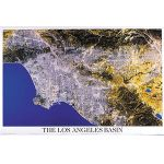 Poster - L.A. from Space Laminated