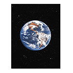 Poster - Earth - Laminated Art Print (24x36)